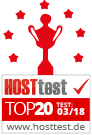 Hosttest Top20 03/2018